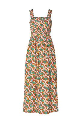 Printed Maggie Dress by RHODE