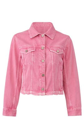 Wild Cherry Denim Jacket by Sanctuary