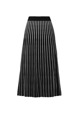 Striped Sweater Skirt by Tory Burch
