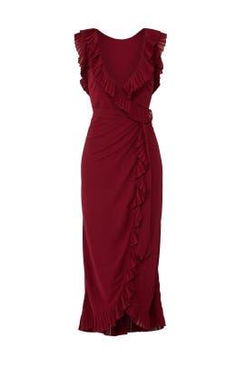 Garnet Whitney Dress by Tory Burch