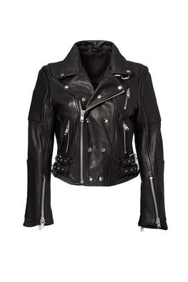Queen of Concrete City Biker Jacket by Asilio
