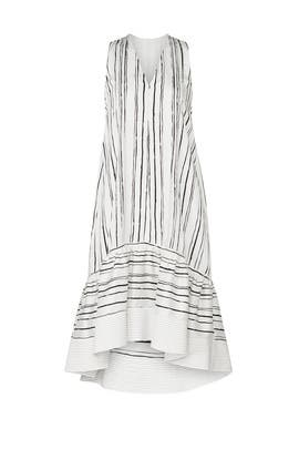 High-Low Painted Dress by 3.1 Phillip Lim