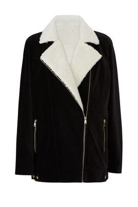 Elisha Faux Sherpa Jacket by Show Me Your Mumu