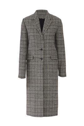 Nimbus Check Coat by The Fifth Label