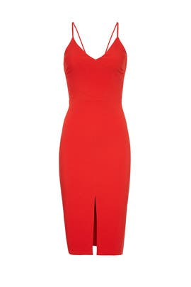 Red Brooklyn Dress by LIKELY