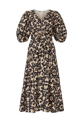 Short Sleeve Kaleidoscope Dress by Rebecca Taylor
