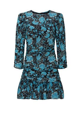 Paisley Raven Dress by Tanya Taylor
