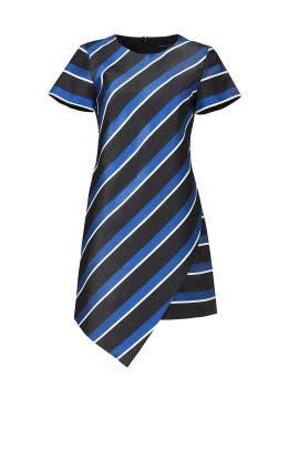 Abbey Stripe Shift Dress by CYNTHIA STEFFE