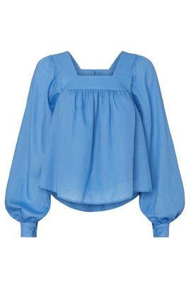 Baby Blue Blouse by Sweet Baby Jamie
