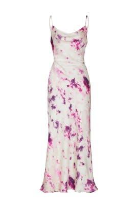Tie Dye Slip Gown by BARDOT