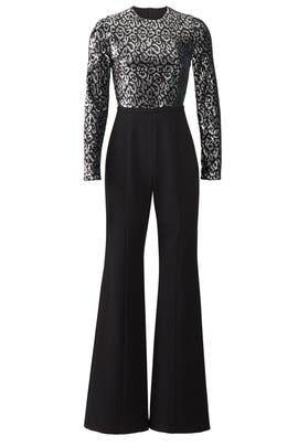 Lazaro Sequin Jumpsuit by Black Halo