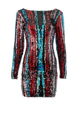 Multi Sequin Lola Sheath by Dress The Population