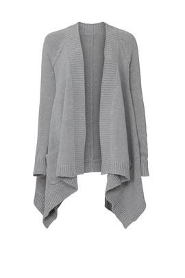 Grey Drape Cardigan by KF/KaufmanFranco Collective