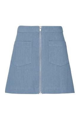 Bonnie Denim Skirt by Line + Dot