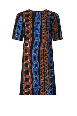 Chain Print Dress by Marni
