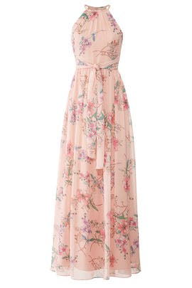 Floral Daniela Gown by Monique Lhuillier Bridesmaid