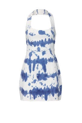 Denim Duncan Halter Dress by Show Me Your Mumu