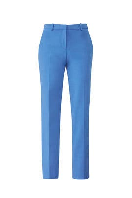 Blue Tailored Trousers by Theory