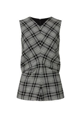 Plaid Heather Top by Tanya Taylor