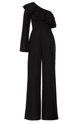 Ruffle Panel Jumpsuit by Fame & Partners