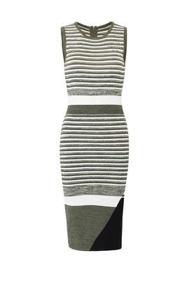 Striped Lucy Knit Dress by John + Jenn