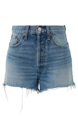 70s High Rise Shorts by RE/DONE