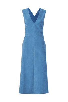 Blue Castora Dress by Tibi