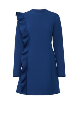 Navy Lincoln Dress by MSGM
