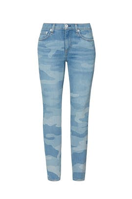 Cate Mid Rise Ankle Skinny Jeans by rag & bone JEAN