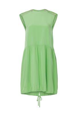 Eco Cape Dress by Tibi