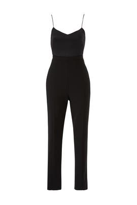 Black Teagun Jumpsuit by Black Halo