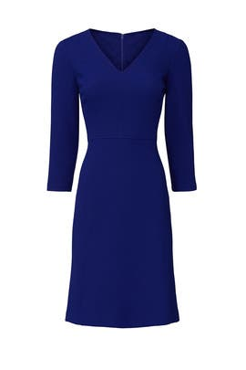 Blue Edita Dress by Lauren Ralph Lauren