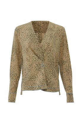 Shields Cheetah Top by rag & bone