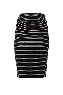 Mia Stripe Maternity Skirt by ripe