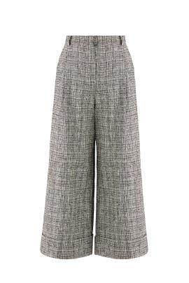 Gray Wide Leg Pants by Tara Jarmon