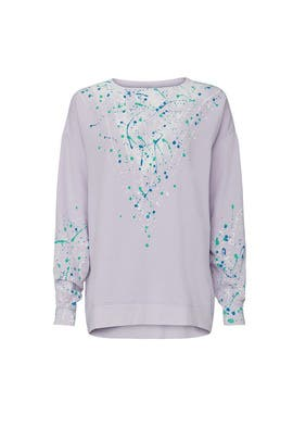 Splatter Paint Sweatshirt by Wildfox