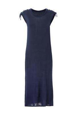 Tie On The Shoulder Dress by CAARA