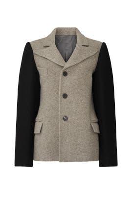 Overdyed Twill Jacket by Maison Margiela