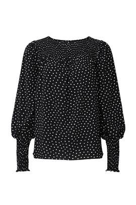 Heartbeat Smocked Top by kate spade new york