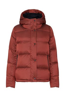 Orange Wunder Puffer Jacket by Lululemon