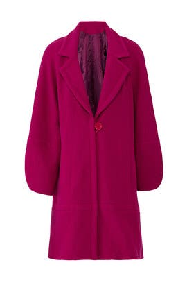 Raspberry Maggie Coat by Nanette Lepore