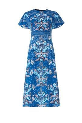 Printed Waffle Dress by Peter Pilotto