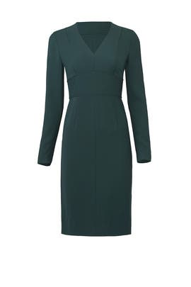 Green Tailored Dress by Diane von Furstenberg
