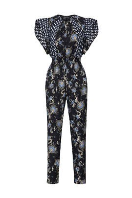 Paisley Printed Jumpsuit by Rebecca Taylor