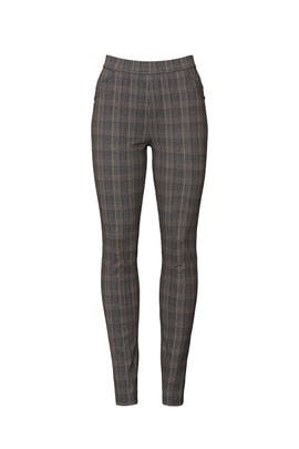 Grey Plaid Grease Leggings by Sanctuary
