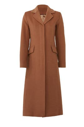 Emi Wool Coat by Trina Turk
