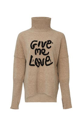 Alma Give Me Love Turtleneck by Zadig & Voltaire