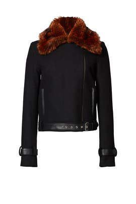 Black Coyote Club Jacket by Bec & Bridge