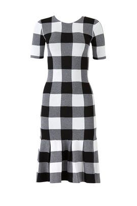 Gingham Knit Dress by Slate & Willow