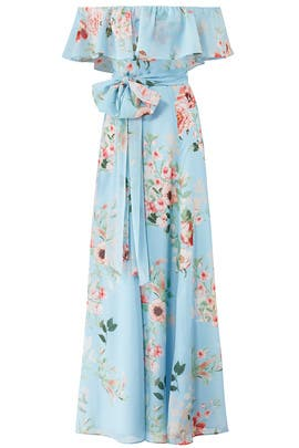 6e568a73185d Floral Carmen Maxi by Yumi Kim for $30 - $45 | Rent the Runway